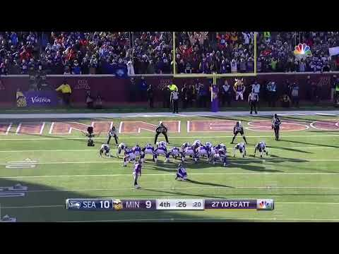 "Blair Walsh Lowlights || ""Let You Down"" 