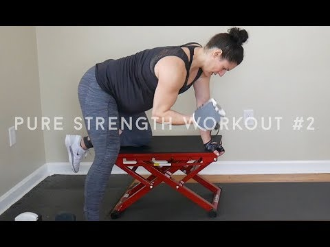 PURE Strength Workout #2: Shoulders, Back, and Biceps by Jamie B
