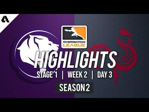 LA Gladiators vs Paris Eternal   Overwatch League S2 Highlights - Stage 1 Week 2 Day 3 thumbnail