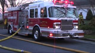 Hanover Twp, Northampton County Dwelling Fire - 3.27.11