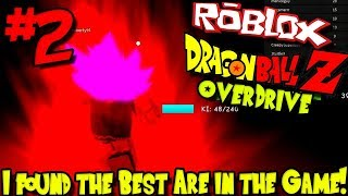 I FOUND THE BEST AREA IN THE GAME! | Roblox: Dragon Ball Z Overdrive - Episode 2