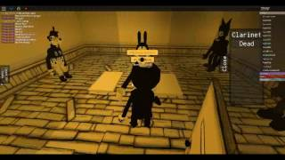 Bendy And The Ink Machine In ROBLOX?!! (I'm BORIS?!!)
