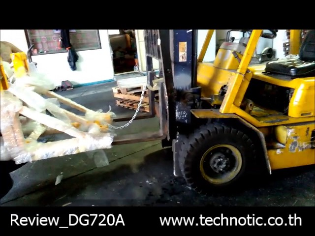 อุปกรณ์เสริมรถโฟล์คลิฟท์ Drum gripper  DG720A