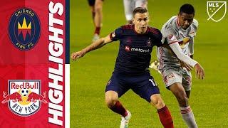 Chicago Fire FC vs. New York Red Bulls | October 24, 2020 | MLS Highlights