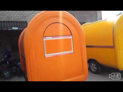 Food Caraven Trailer Fast Food Car Food Wagon Mobile Hot Dog Cart Street Food Trailer