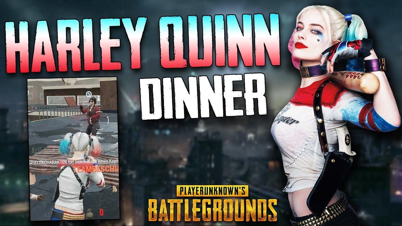 PUBG - HARLEY QUINN SKIN DINNER :O ! Wie geil ! Twitch Stream Highlight  Gameplay Deutsch German