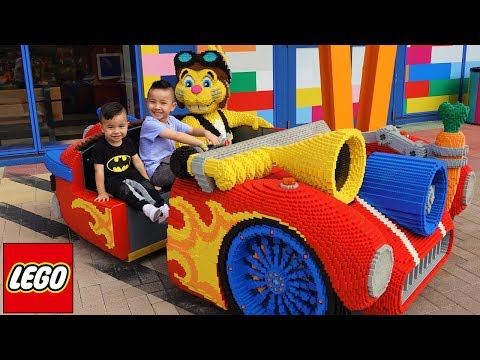 Children's Fun Theme Park  Legoland Kids Playground Rides  With Ckn Toys