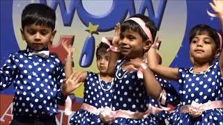 Zoobi Doobi song dance  Performance by Nursery  (WOWKIDS FATORDA ANNUAL DAY 2018)