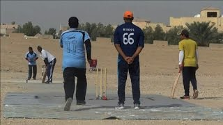 On stony ground: Asian cricketers find Saudi solace