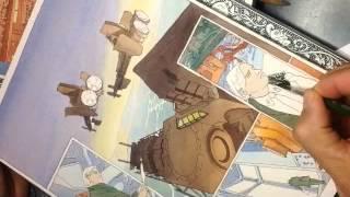 Watercolor Comics by Wren