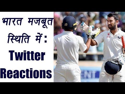 India vs Australia: Cheteshwar Pujara & Wriddhiman Saha dominates visitors | वनइंडिया हिंदी