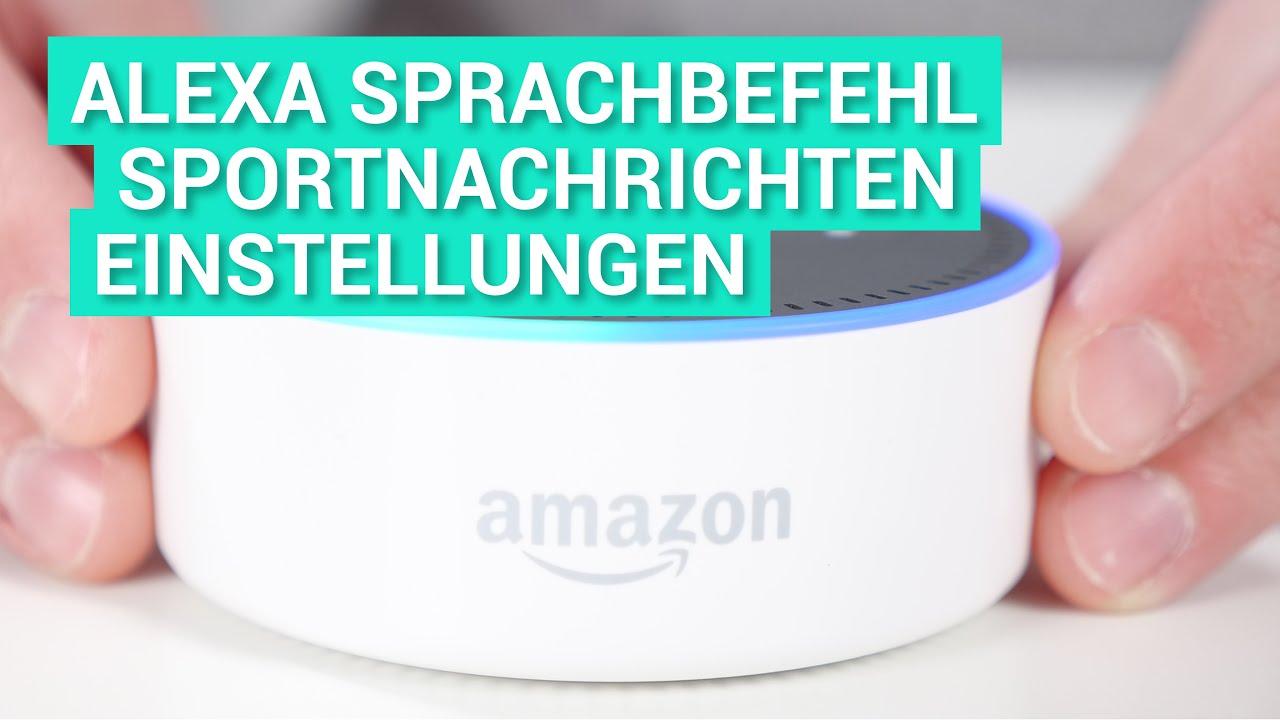Amazon Einstellungen