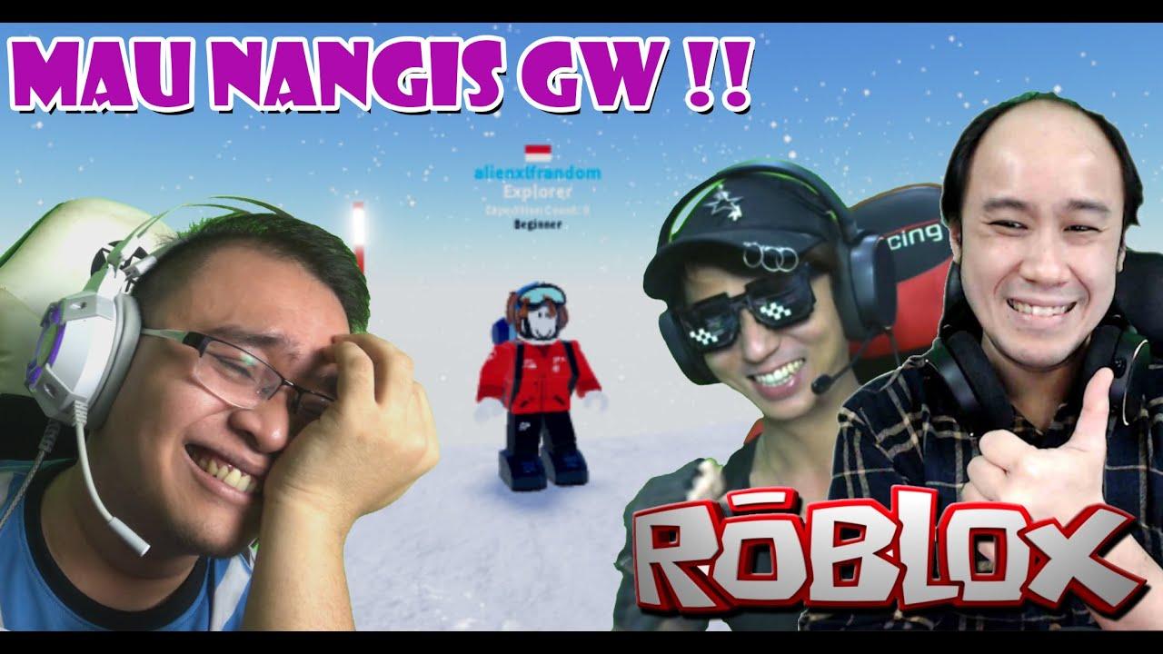 MAU NANGIS GW !!! - ROBLOX EXPEDITION ANTARTICA With @Mr. CusCus Dan @RyuHere