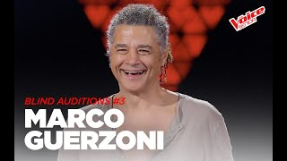 """Marco Guerzoni """"Are You Gonna Go My Way""""- Blind Audition #3 - The Voice Senior"""