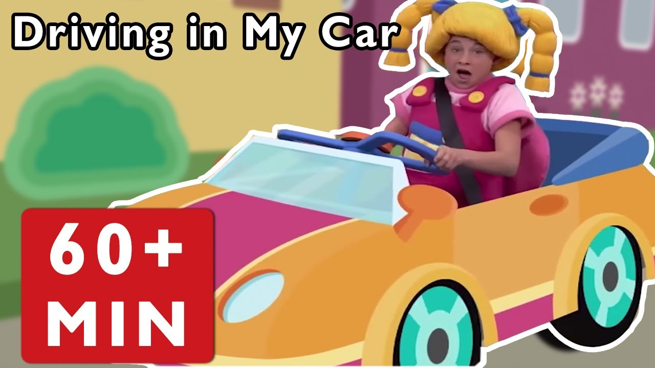Nursery Rhymes for Kids by Mother Goose Club | Driving in My Car + Road Trip Adventure Baby ...