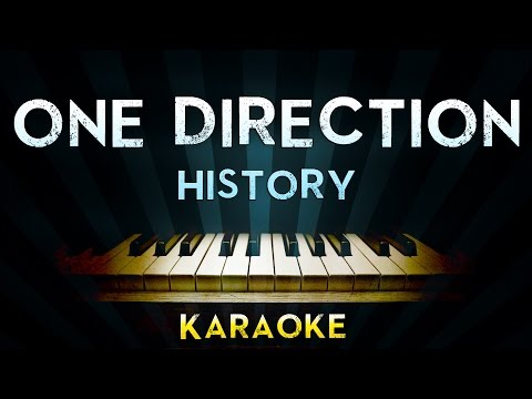One Direction - History | Piano Karaoke Instrumental Lyrics Cover Sing Along