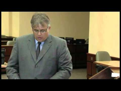 Professor Charles H. Rose III cross examines a witness