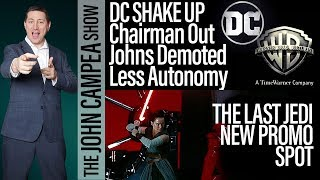MAJOR DC SHAKE UP - Chairman Out - Geoff Johns Demoted And More Coming - The John Campea Show thumbnail