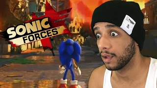 SONIC FORCES GAMEPLAY TRAILER REACTIONS & OPINIONS W/Cobanermani456 x COBAMA SAMA