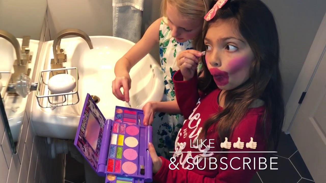 My Little Pony Makeup tutorial Sophia Says Townley Girl
