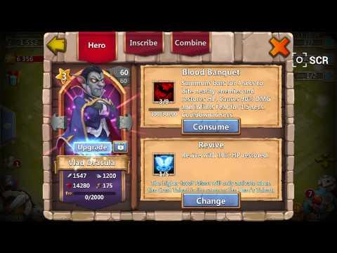 Castle Clash: Getting Vlad Dracula.!!