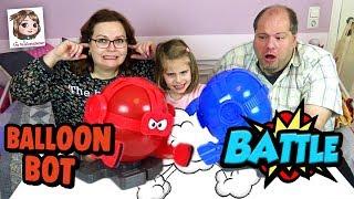 BALLOON BOT BATTLE 🎈 Bei wem platzt der Luftballon? Lustiges Partyspiel oder FAIL?