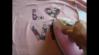 Design usando papel termocolante