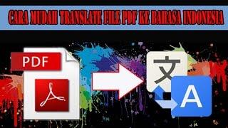 Download Video (TUTORIAL) Translate file PDF ke Bahasa Indonesia Gampang kok MP3 3GP MP4