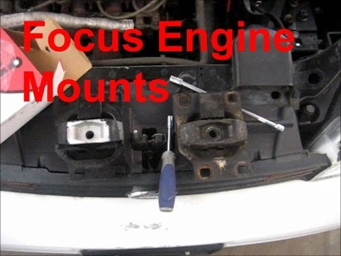 Ford focus vibrates in reverse for Ford focus motor mounts vibration