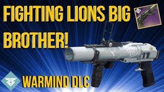 MORE OP THAN FIGHTING LION!? WARMIND DLC - DESTINY 2