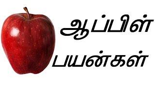 ஆப்பிளின் பயன்கள் - apple benefits tamil
