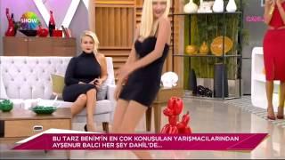 Ayşenur Balcı dans şov