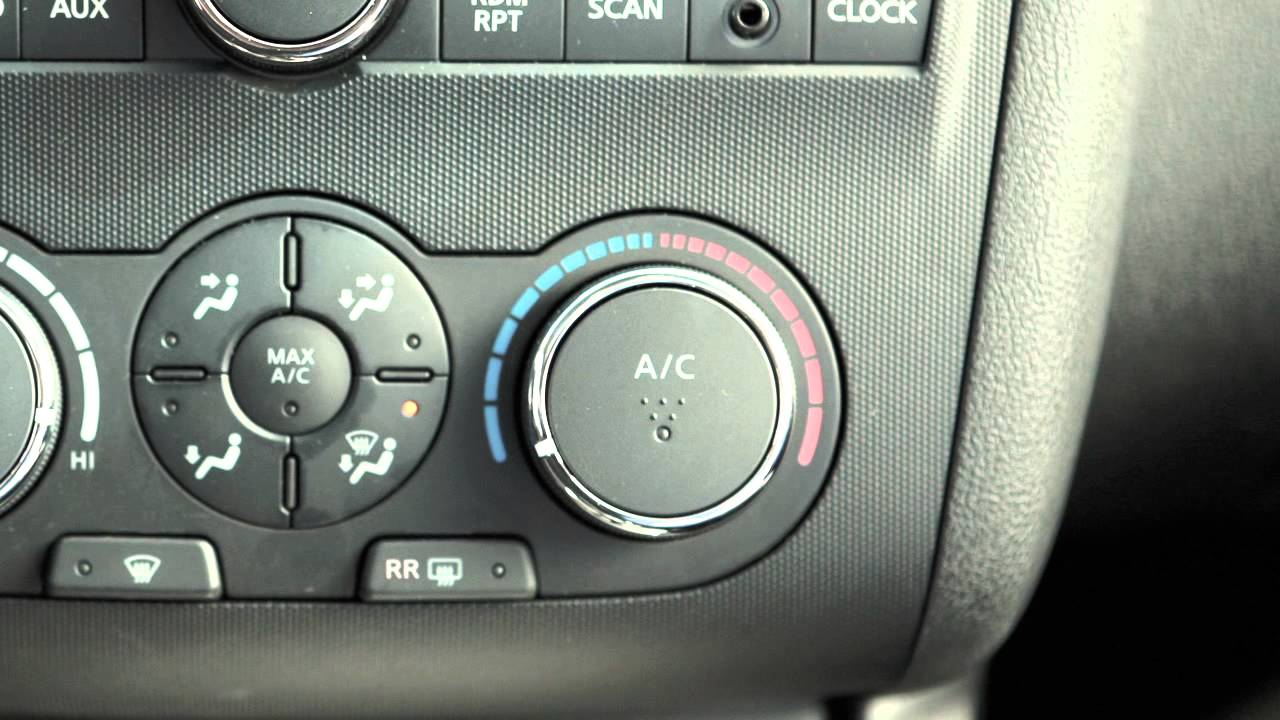 2012 NISSAN Altima - Manual Climate Controls - YouTube