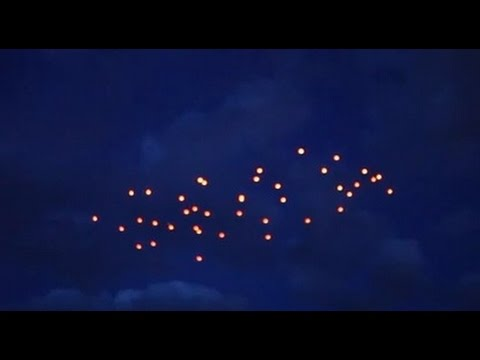 JAPAN UFO Sightings 2016 | Mysterious Strange UFO Lights Caught Over Japan