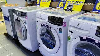 Đi mua máy giặt lồng ngang mà nhiều loại nhiều giá không biết chọn chiếc nào.