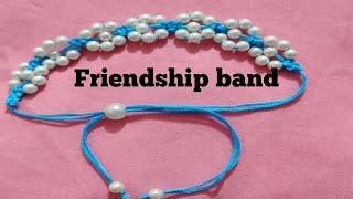 How to make friendship band  / Diy make friendship bracelet at home