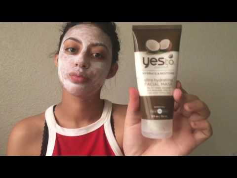 Mini Review: Yes To Coconut Ultra Hydrating Facial Mask