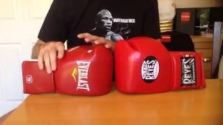 Everlast vs Cleto Reyes Boxing Glove Review