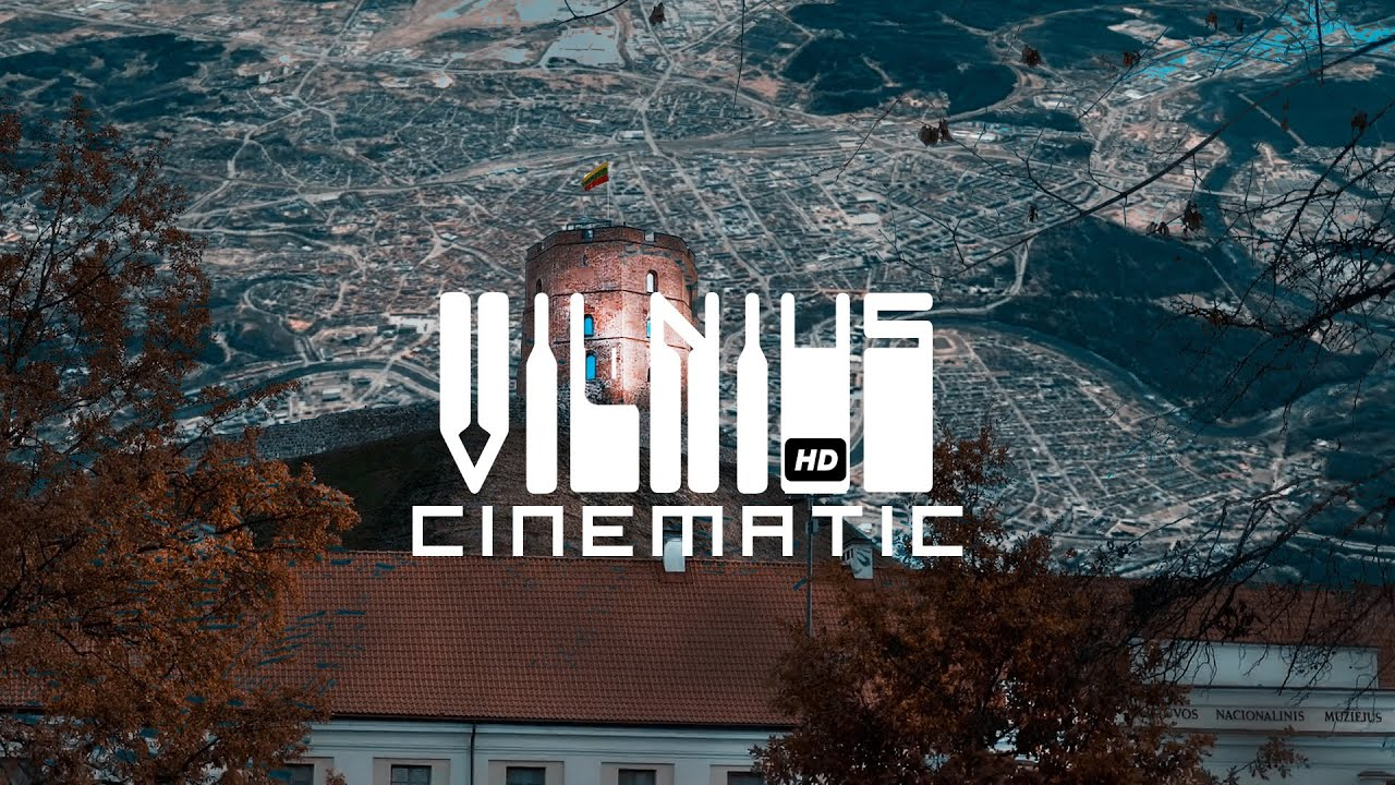 Lithuania Travel Vilnius Cinematic Video Guide