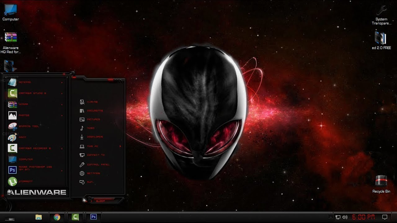 Red Dragon Theme