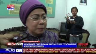 komisioner ombudsman menampar tidak marah betul