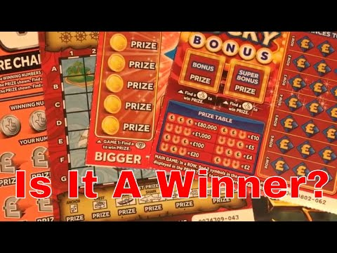 Winning ? Video From National Lottery Sratch Cards By NL Dreams (008)