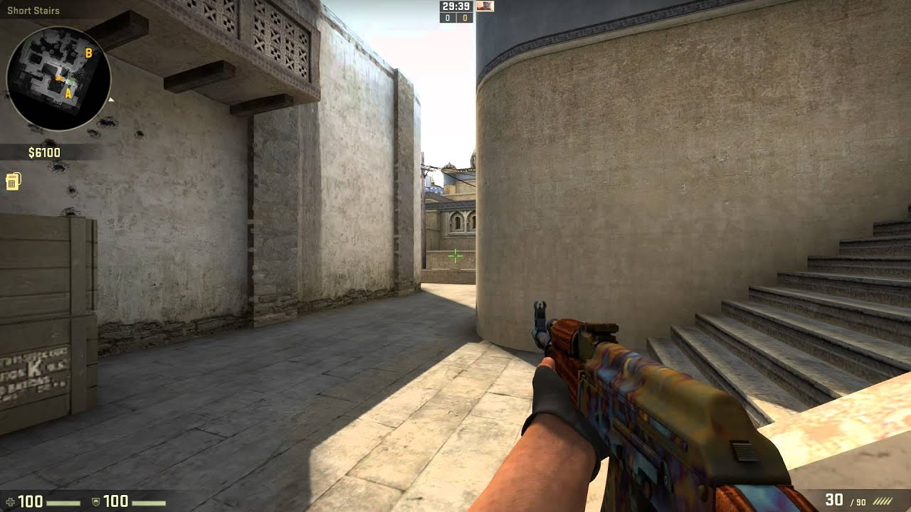 how to change a crosshair in cs go