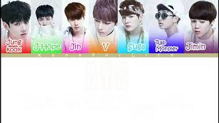 BTS 'Skit : R U Happy Now' Color Coded Lyrics