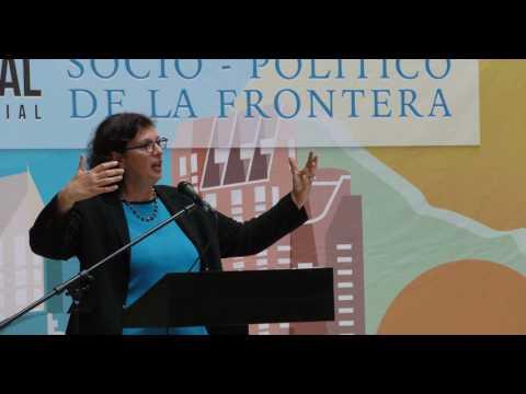 Sonia Nazario -Conferencia Binacional en Tijuana