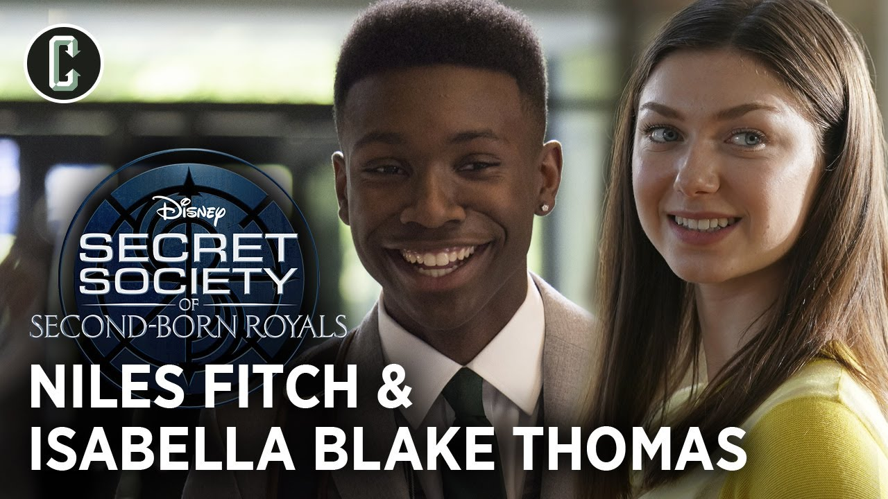 Secret Society of Second-Born Royals Interview: Niles Fitch and Isabella Blake-Thomas
