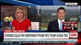Trump shill goes down in flames trying to defend administration against Russian ties