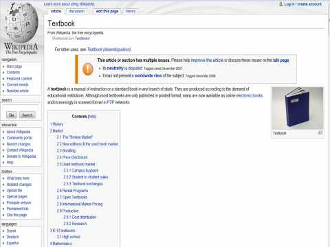 From Wikipedia to the Page