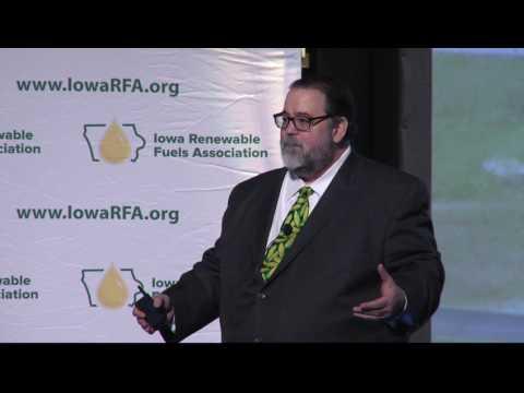 RFA CEO Bob Dinneen addresses 2017 Iowa Renewable Fuels Summit