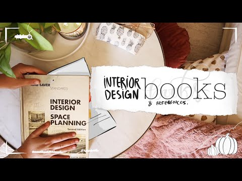 Interior Design Books and References Essentials